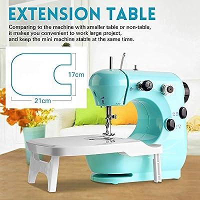 Máquina de coser portátil Mini máquina de coser para principiantes ...