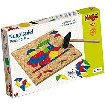 HABA Geo Shape Tack Zap Play Set