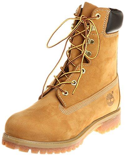 Timberland 8 Premium Mens Boot, Wheat Nubuck, 44.5 D(M) EU/10 D(M) UK