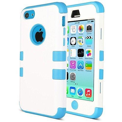 71 opinioni per ULAK- Cover rigida per iPhone 5C- iPhone 5C Custodia ibrida a 3 strati in
