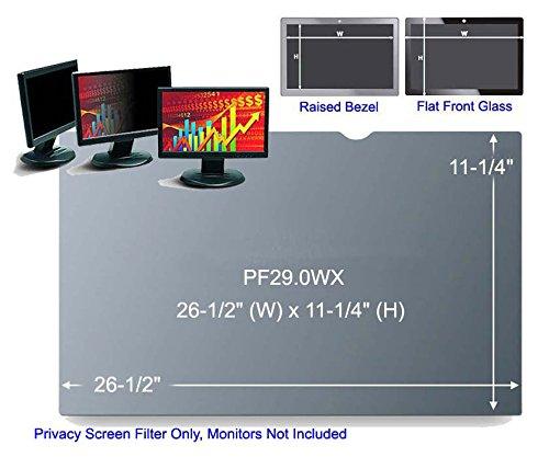 3M PF29.0WX Black Frameless Privacy Filter for Desktop 29'' Widescreen Monitor (21:9) (161367)