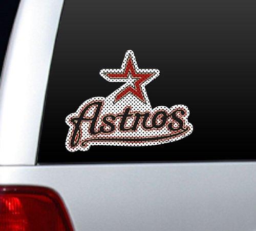 MLB Houston Astros Die Cut Window Film