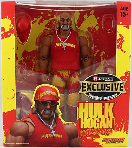 - Ringside Red Hulkamania Hulk Hogan Collectibles Exclusive Storm Collectibles Toy Wrestling Action Figure