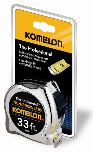 Komelon 433IE The Professional Inch/Engineer Scale 33-Foot Power Measuring Tape by Komelon (Image #2)
