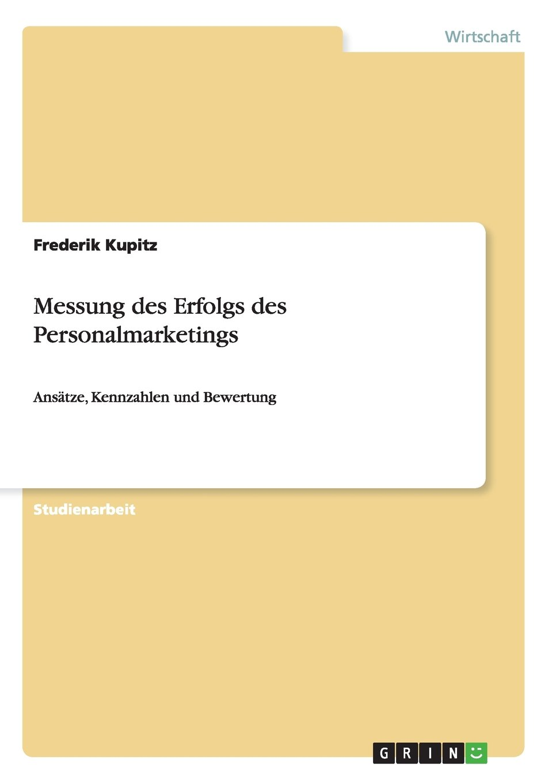 Download Messung des Erfolgs des Personalmarketings (German Edition) pdf