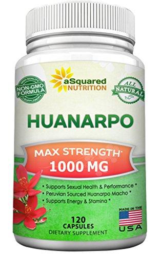 Huanarpo Macho Powder Capsules - 1000mg Max Strength - Pu...