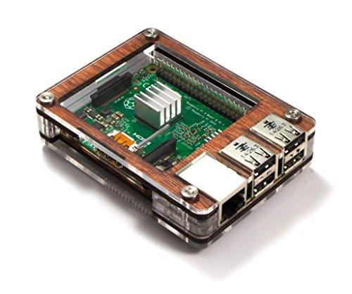 ase - Raspberry Pi 3, Pi 2, Pi B+ and 2B Heat sinks Included~ ()
