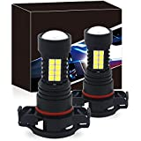 H16 LED Fog Lights Bulbs, Viesyled Upgrade H11/H8 LED Lamps DOT Approved, Cool Xenon White 6000K, 3 Yr Warranty (Pack of 2)