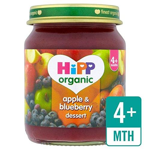 HiPP Organic Apple & Blueberry Dessert 125g