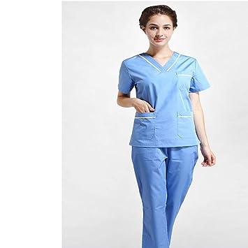 OPPP Ropa médica Scrub Care Uniform Summer Hospital de Mujer, médico, Scrub, Ropa