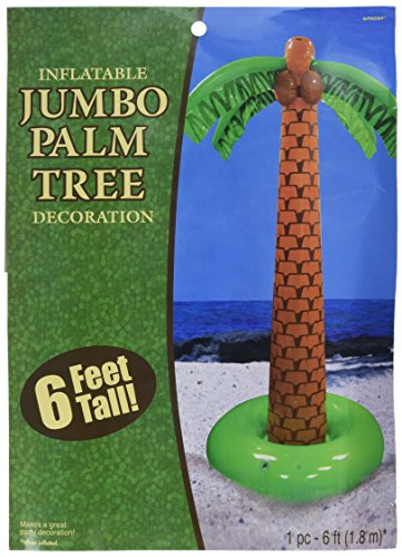 amscan Party Inflatable Palm Tree, 6']()