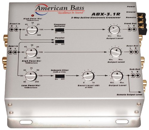 (American Bass 3-Way Active Crossover )