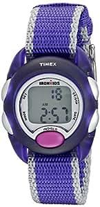 Timex Kids' T7B9839J IronKids Translucent Purple Resin Watch