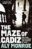Front cover for the book The Maze of Cadiz by Aly Monroe