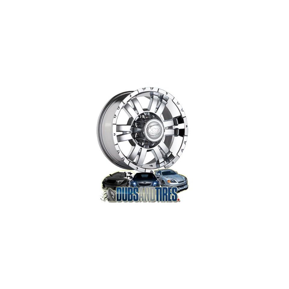 16 Inch 16x8 Ion Alloy wheels STYLE 182 Chrome wheels rims