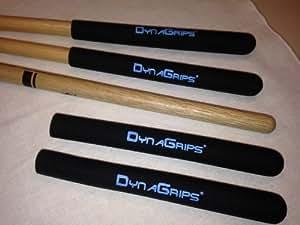 dynagrips dg 1 drum stick grips fits stick models 7a jazz musical instruments. Black Bedroom Furniture Sets. Home Design Ideas
