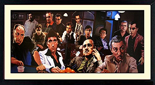 The Bad Guys Poster By Justin Reed Custom Framed & Mated Print