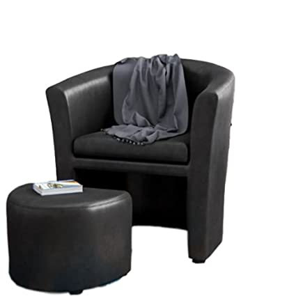 Amazoncom Accent Chair With Ottoman Underneath Arm Chaise Lounge