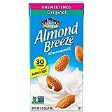 Almond Breeze Almond Milk, Unsweetened Original, 64 Ounce