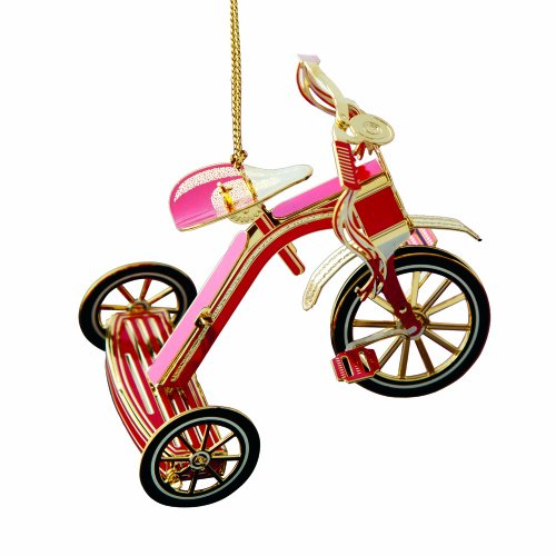Baldwin Red Tricycle  Ornament