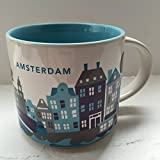 "Starbucks Amsterdam ""You Are Here"" YAH Collection Coffee Mug"