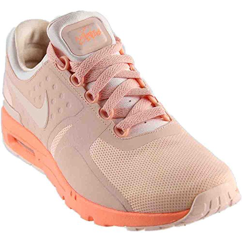 Nike Womens Air Max Zero Running Mesh Athletic Shoes Orange 9.5 Medium (B,M)