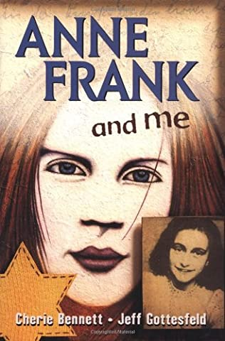 book cover of Anne Frank and Me