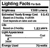 (Pack Of 2) 70PAR38/FL 120V - 70 Watt High Output
