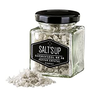 Salt'sUp PEPPER CRYSTAL salt Flakes