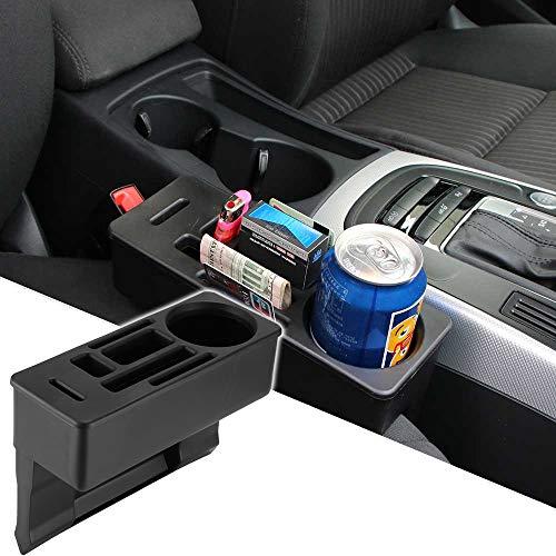 Caja de almacenamiento para asiento de coche, organizador de bolsillo para consola para guardar llaves de cigarrillos y otras cosas pequeñas