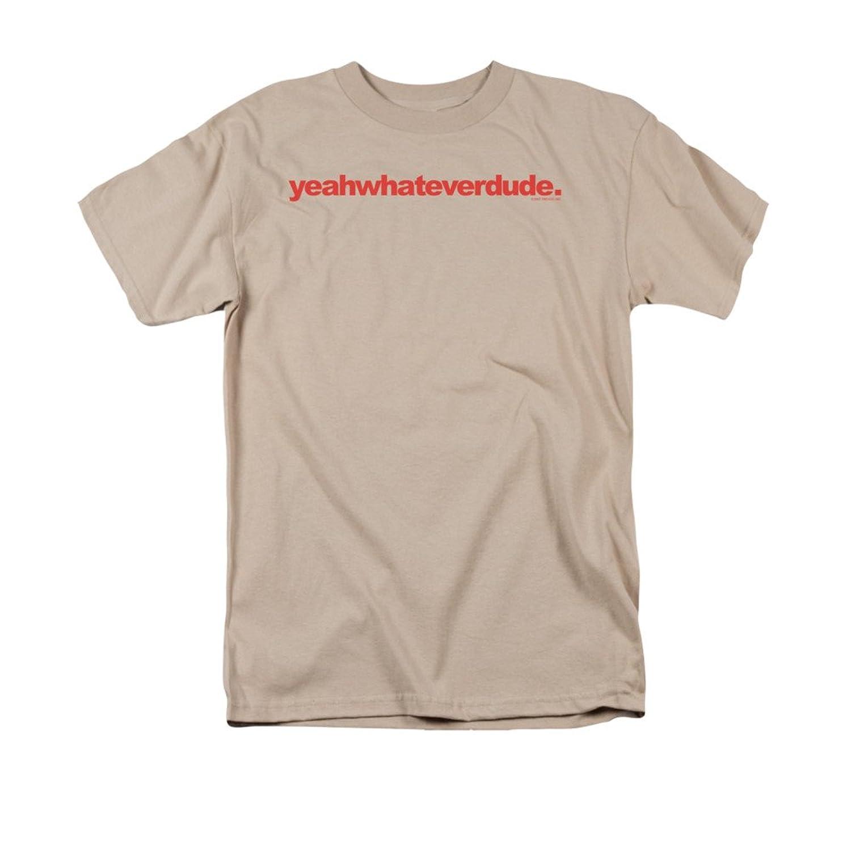 Yeahwhateverdude Funny Phrase Novelty Adult T-Shirt