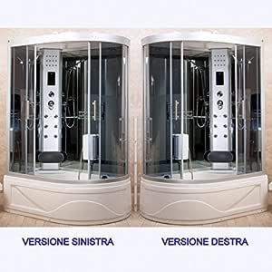 Cabina hidromasaje con bañera ducha Box 115 x 90 versión derecha o ...