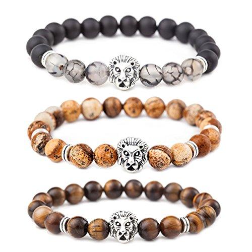 MIKINI Jewelry Natural Dragon Bracelets