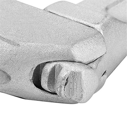 TOOGOO 16-68mm Mini cle a molette reglable courte tige grandes ouvertures ultra-mince de qualite superieure
