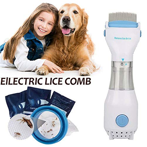 Chemical Electronic Head Lice Nit Comb Pet Clean Detects Kills Headlice Electric