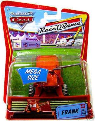 Mattel DISNEY PIXAR CARS RACE O RAMA FRANK THE COMBINE DI...