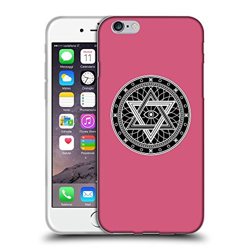 """GoGoMobile Coque de Protection TPU Silicone Case pour // Q08340614 Mystique occulte 13 Rougir // Apple iPhone 6 PLUS 5.5"""""""
