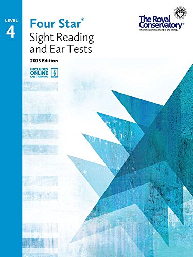 4S04 - Royal Conservatory Four Star Sight Reading and Ear Tests Level 4 Book 2015 Edition