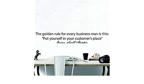 Orison Swett Marden Inspirational Motivational Wall Decal Quote Art Office Decor