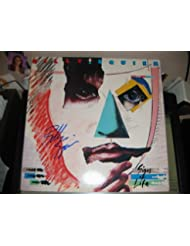 "BILLY SQUIER signed ""Signs of Life"" album cover / UACC Rd # 212"