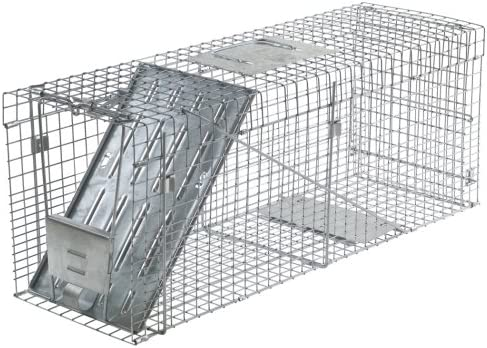 Havahart Trampa Jaula plegable 1-puerta para grandes animales vivos.