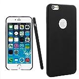 iPhone 6S Plus Case, aLLreLi [Slim Fit] iPhone 6 Plus [Thinnest Leather] Case Black - Premium PU Leather Cover for iPhone 6 / 6S Plus 5.5