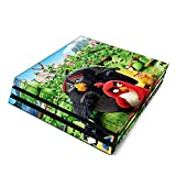 Decorative Video Game Skin Decal Cover Sticker for Sony PlayStation 4 Pro Console PS4 Pro - Angry Birds