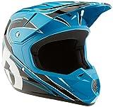 SixSixOne Comp MX Helmet (Cyan/Black, Large)
