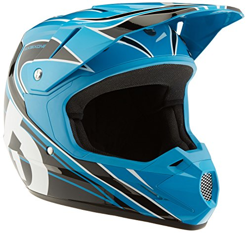 SixSixOne Comp MX Helmet (Cyan/Black, ()