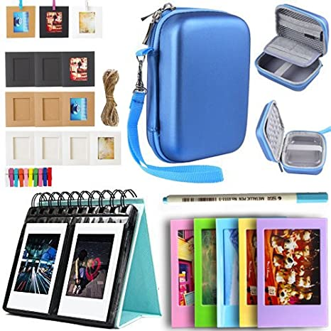 Printer Accessories Bundle For HP Sprocket Portable Photo 2Nd Edition Case+Photo