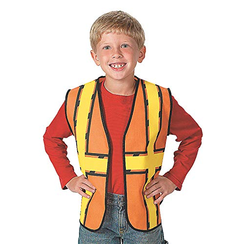 Fun Express - Construction Worker PNW Vest - Apparel Accessories - Costume Accessories - Bulk Accessories - 1 Piece]()