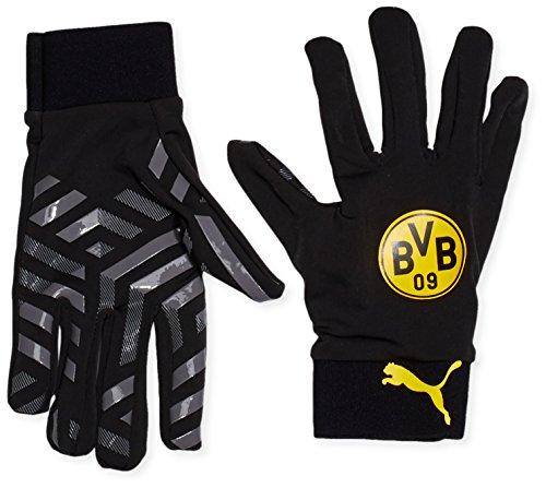 PUMA Spielerhandschuhe BVB Field Player Gloves, black/cool gray/cyber yellow, 9, 041199 01