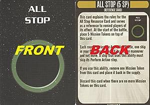 Star Trek Attack Wing Klingon Civil War Storyline Op Kit 3 All Stop Card