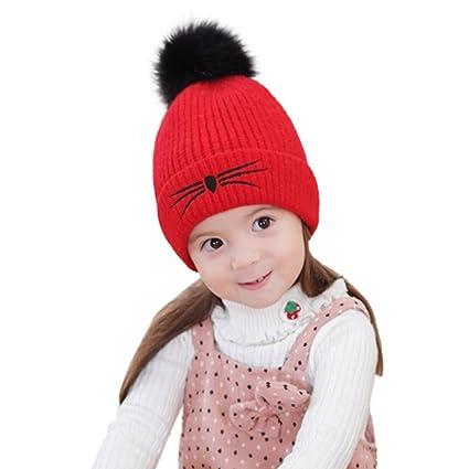 kimodo recién nacido bebé niñas niños bebé lana para tejer gorro de ...